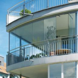 Balkonverglasung-Windschutz-Glas-Krausmann-Ried